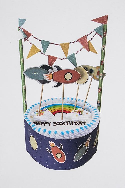 """Набор для украшения торта """"Космос"""""""