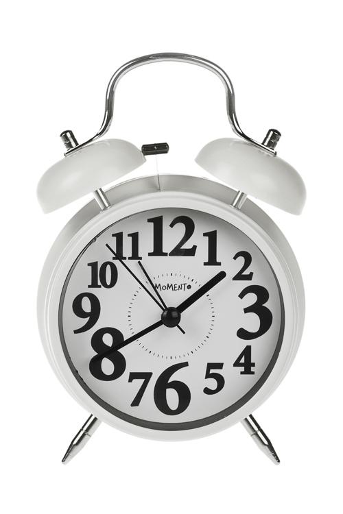 Часы настольные Танцующие цифрыИнтерьер<br>11.3*16.5см, металл, стекло, с будильником, с подсветкой<br>