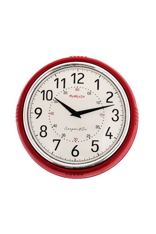 Часы настенные РетроПодарки ко дню рождения<br>Д=24.6см, пластм.<br>