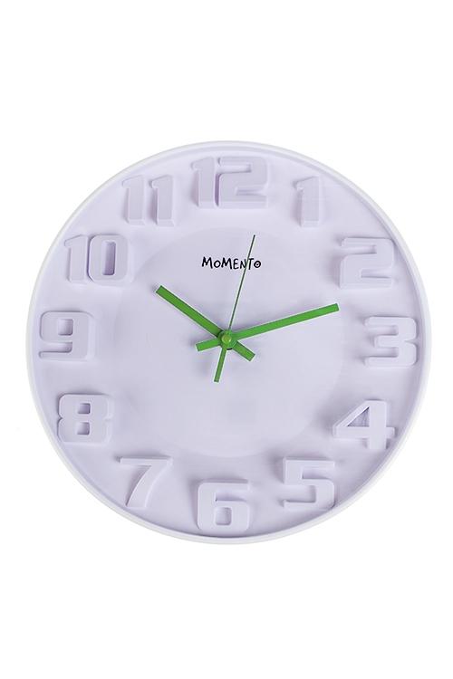 Часы настенные Объемные цифрыИнтерьер<br>Д=30.5см, пластм.<br>