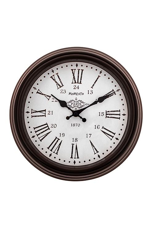 Часы настенные РетроПодарки на день рождения<br>Д=30.5см, пластм.<br>