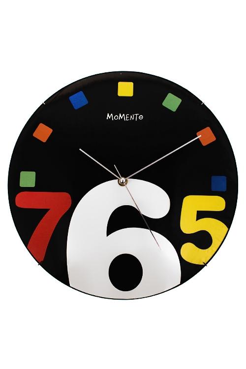 Часы настенные Веселые цифрыИнтерьер<br>Д=34см, пластм.<br>