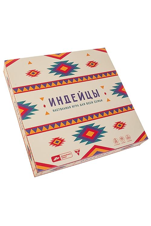 Игра настольная семейная ИндейцыРазвлечения и вечеринки<br>24*24*4.5см, картон (карты, планшеты игроков, блокнот)<br>