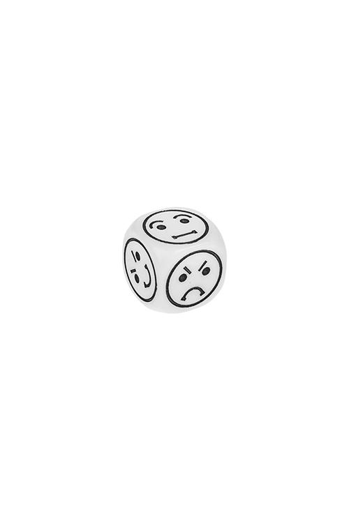 Аксессуар для настольных игр кубик Смайл набор настольных игр феникс презент 29 14 5 3 2см в деревян коробке 35702