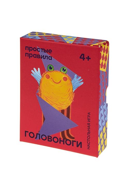 Игра настольная детская карточная ГоловоногиРазвлечения и вечеринки<br>15*9*3см, картон<br>
