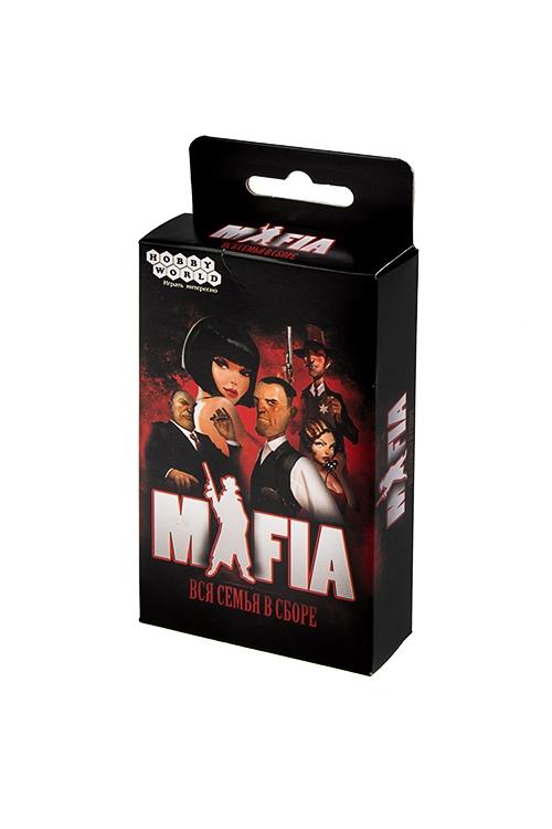 Настольная карточная игра Мафия. Вся семья в сбореРазвлечения и вечеринки<br>14*7*3см, картон<br>