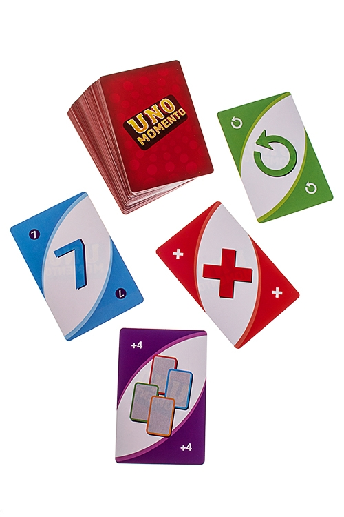 Игра настольная семейная карточная UNO momento uno настольные игры карточная игра uno друзья семья картон мальчики подарок