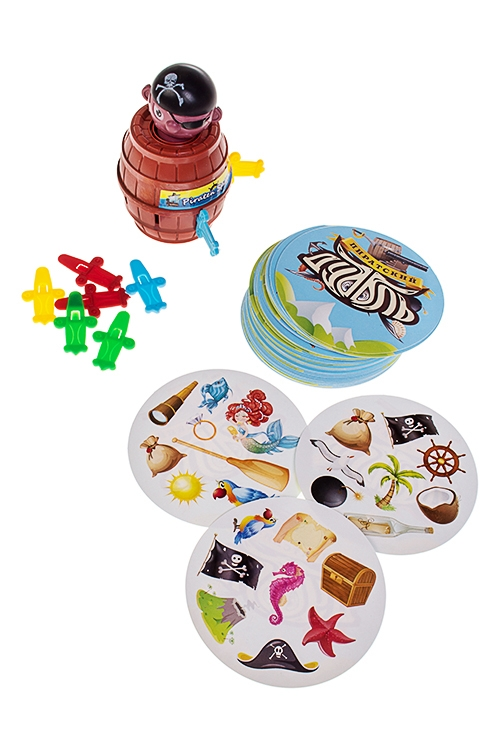 Игра настольная семейная Пиратский дуббль настольная игра zuru inc семейная торт в лицо