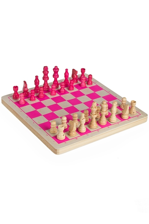 Игра настольная развлек. для взрослых Шахматы для блондинокПодарки ко дню рождения<br>30*30см, дерево<br>