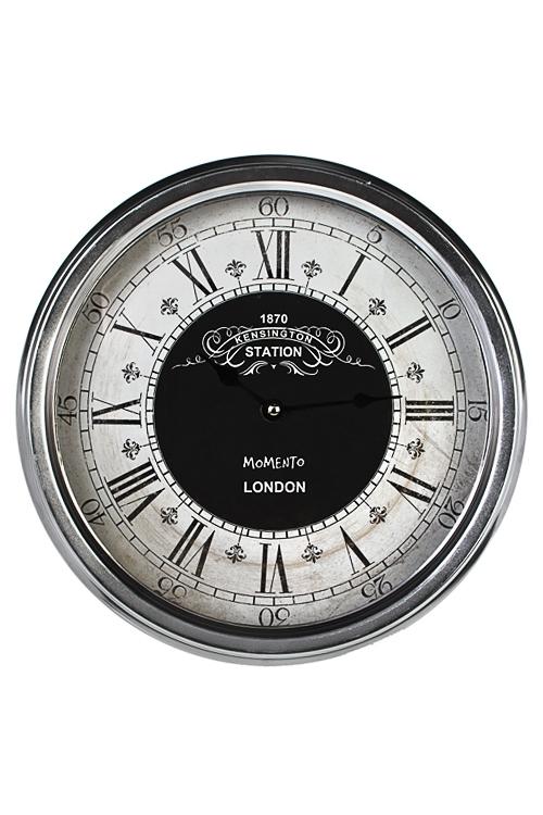 Часы настенные Современная классикаИнтерьер<br>Д=30см, металл, пластм.<br>
