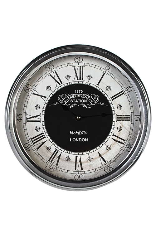 Часы настенные Современная классикаЧасы Настенные<br>Д=30см, металл, пластм.<br>
