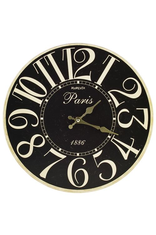 Часы настенные Стильные цифрыПодарки ко дню рождения<br>Д=33.8см, МДФ<br>