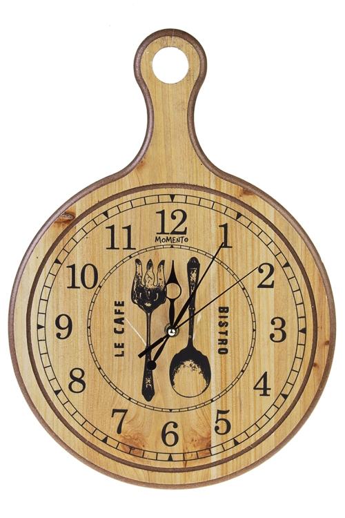 Часы настенные БистроИнтерьер<br>29*40.5см, МДФ<br>