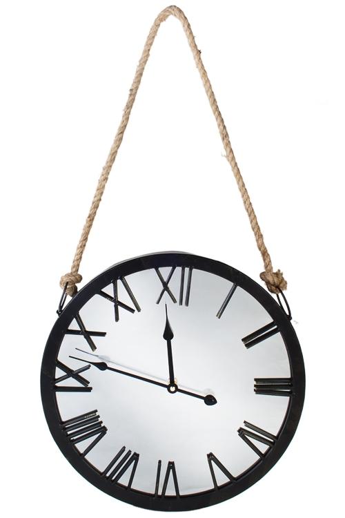 Часы настенные ИзяществоИнтерьер<br>Зеркальные, Д=40см, металл, МДФ<br>