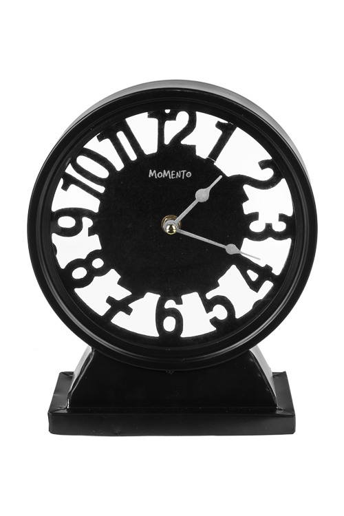 Часы настольные Сквозь времяПодарки ко дню рождения<br>20*23.5*8.3см, металл<br>