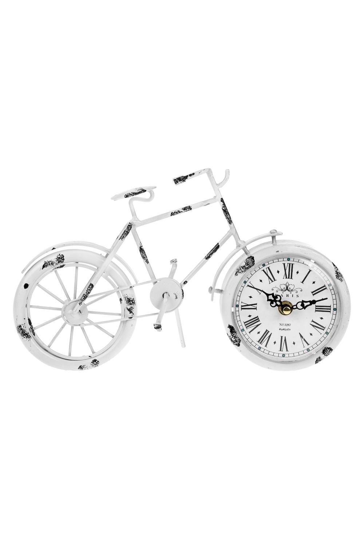 Часы настольные ВелосипедИнтерьер<br>20*4.5*31см, металл<br>