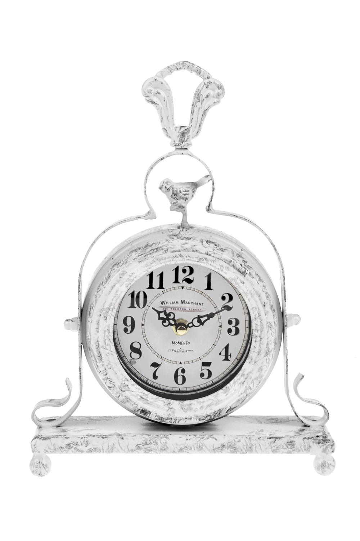 Часы настольные Маленькая птичкаИнтерьер<br>31*8*23см, металл, пластм.<br>