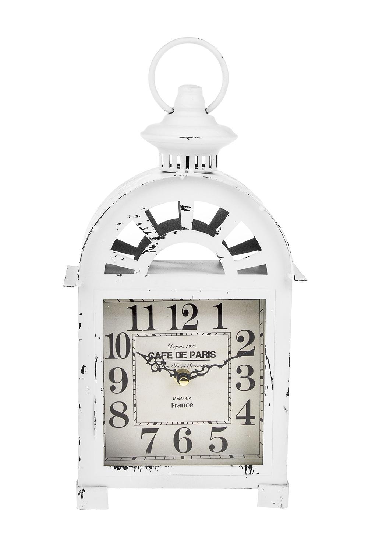 Часы настольные Восточный фонарьИнтерьер<br>18*8*35см, металл, пластм.<br>
