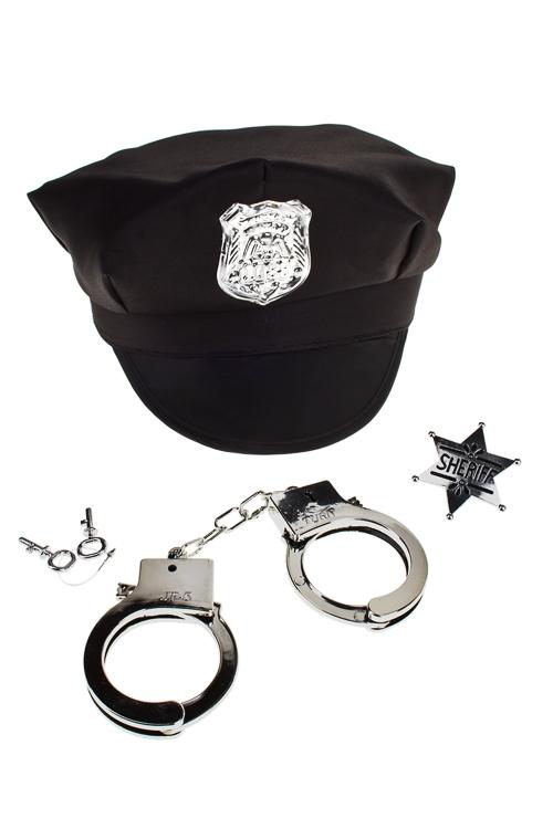 """Набор маскарад. для взрослых """"Офицер полиции"""" от Красный куб"""