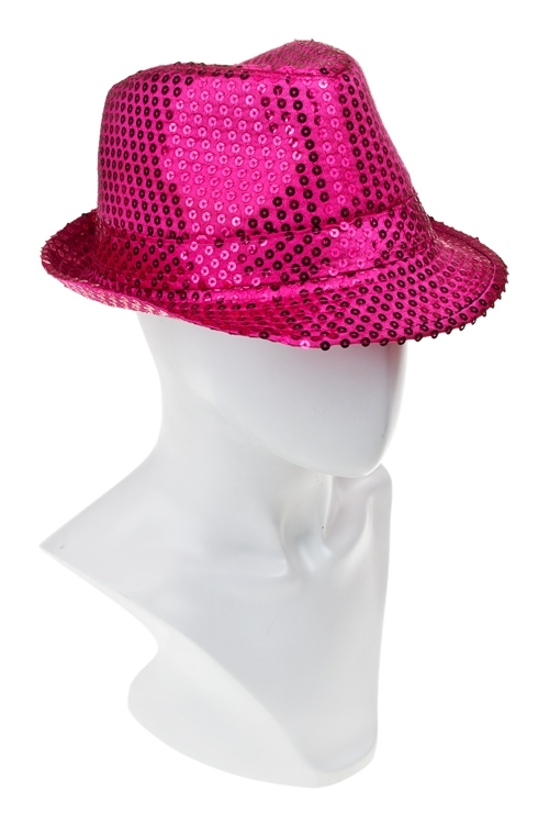 Шляпа маскарадная для взрослых ДискоМаскарадные костюмы<br>текстиль (2 цвета)<br>