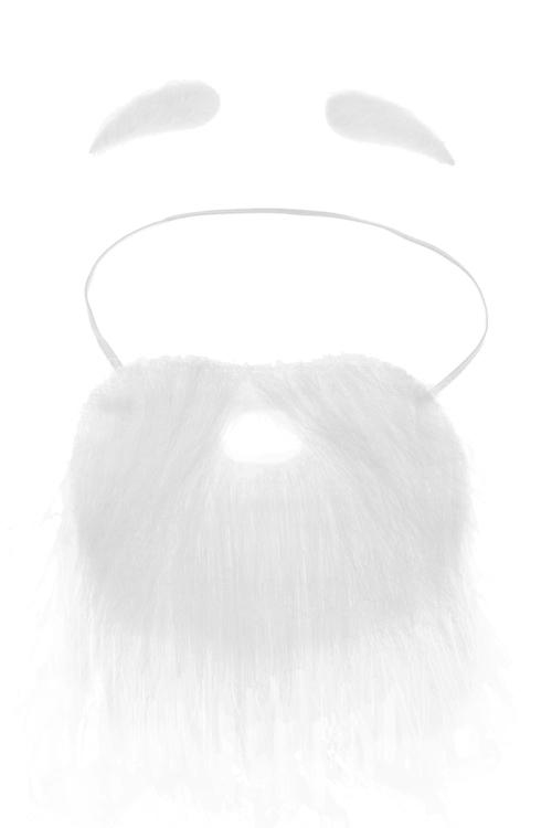 Набор маскарадный для взрослых Дед МорозМаскарадные костюмы<br>Брови), полиэстер<br>