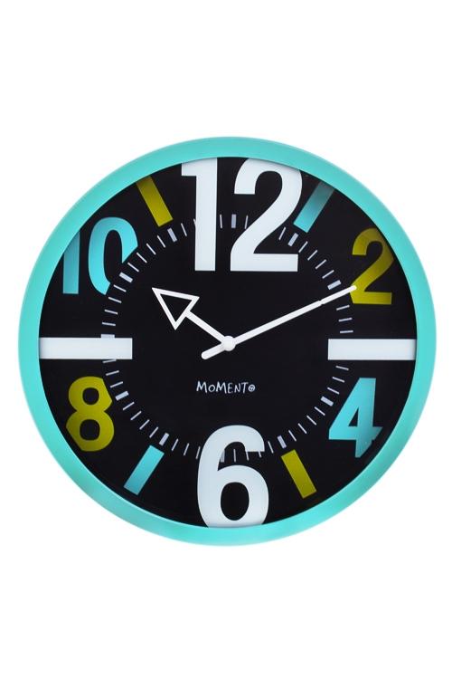 Часы настенные Яркие цифрыЧасы Настенные<br>Д=25см, пластм., стекло<br>