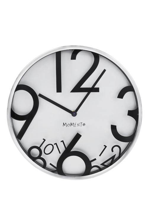 Часы настенные Движение времениИнтерьер<br>Д=30см, металл, стекло<br>