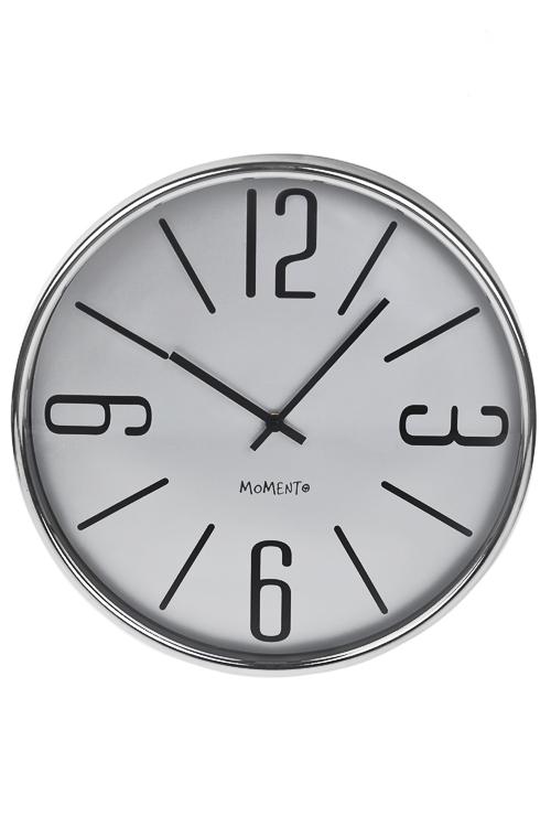 Часы настенные Классический стильЧасы Настенные<br>Д=36.5см, металл, стекло<br>