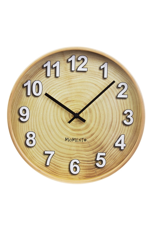 Часы настенные Вековое сокровищеИнтерьер<br>Д=31.7см, дерево, стекло<br>