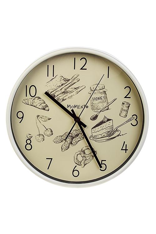 Часы настенные Сладкое времяИнтерьер<br>Д=30см, пластм., стекло<br>