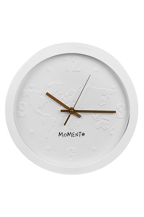Часы настенные КонтинентыИнтерьер<br>Д=30см, пластм., стекло<br>