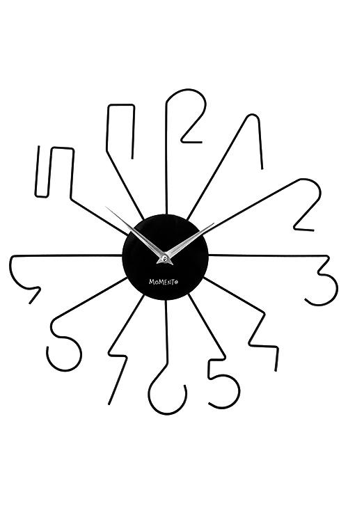 Часы настенные ЦифрыИнтерьер<br>Д=40см, металл<br>