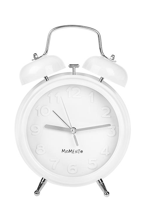 Часы настольные Объемные цифрыИнтерьер<br>19*8*27см, металл, стекло, с будильником<br>