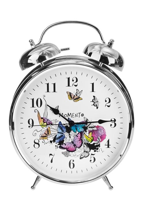 """Часы настольные """"Парящие бабочки"""""""
