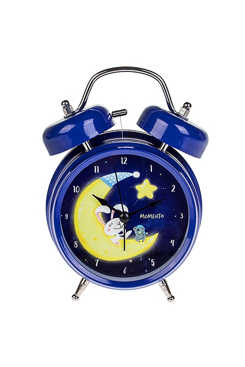 Часы настольные Сказки на ночьИнтерьер<br>13*18см, металл, с будильником, с подсветкой<br>