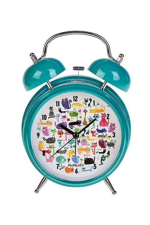Часы настольные Найди песикаИнтерьер<br>15*21см, металл, с будильником, с подсветкой<br>