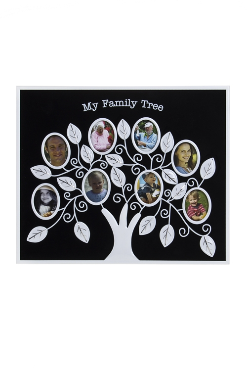Рамка для 8-ми фото Семейное древо