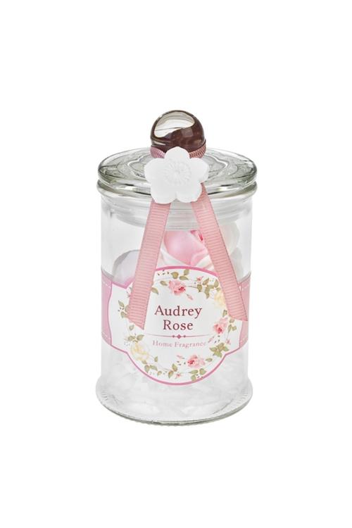 Набор ароматический РозочкиНаборы для ванной<br>Стекло, ПЭ (6 аромат. декор. цветов в банке), роза<br>