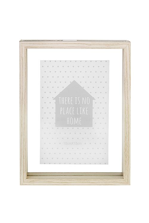 Рамка для фото Домашний уютИнтерьер<br>16*21см, фото 10*15см, стекло, МДФ<br>