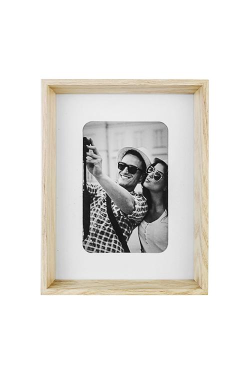 Рамка для фото Домашний уютДеревянные фоторамки<br>17*22см, фото 10*15см, стекло, МДФ<br>