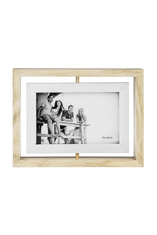 Рамка для фото Домашний уютДеревянные фоторамки<br>22*17см, фото 10*15см, стекло, МДФ<br>