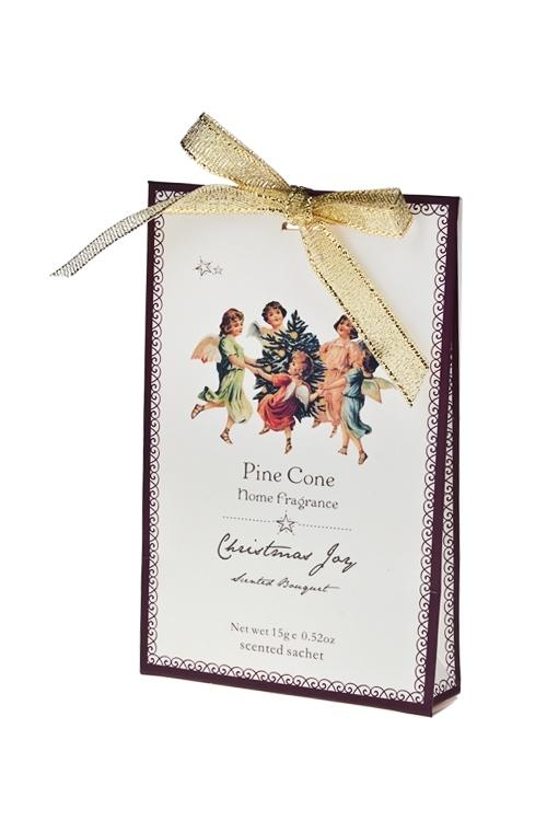 Саше Рождественские ангелыНаборы для ванной<br>конверт (сосновый лес)<br>