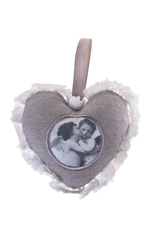 Саше АнгелочкиНаборы для ванной<br>В форме сердца, подвесное (амбра)<br>