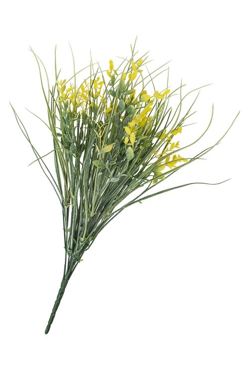 Ветка декоративная Летняя растительностьДекоративные цветы<br>Выс=48см, пласт.<br>