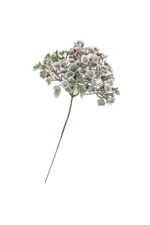 Ветка декоративная КислицаДекоративные цветы<br>Выс=19см, пласт.<br>