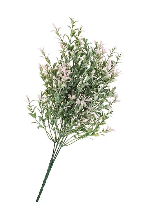 Ветка декоративная Миг нежностиДекоративные цветы<br>Выс=25см, пласт.<br>