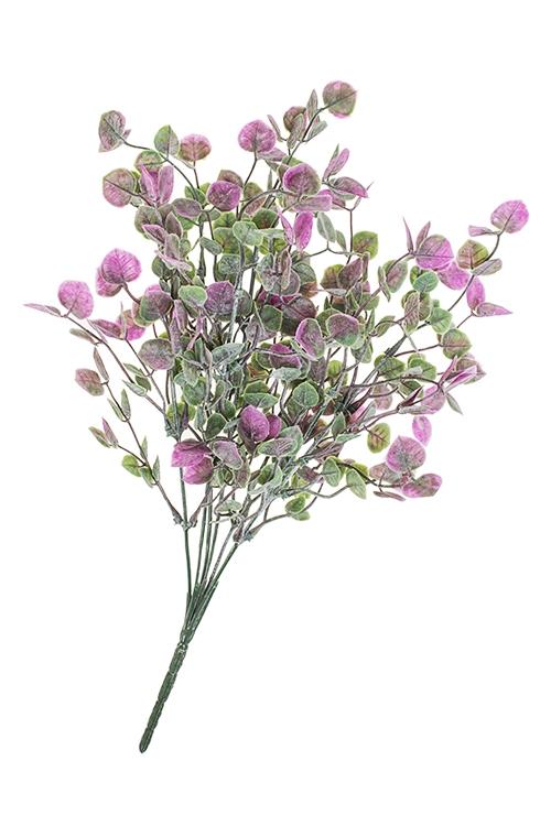 Ветка декоративная ЭвкалиптДекоративные цветы<br>Выс=35см, пласт.<br>