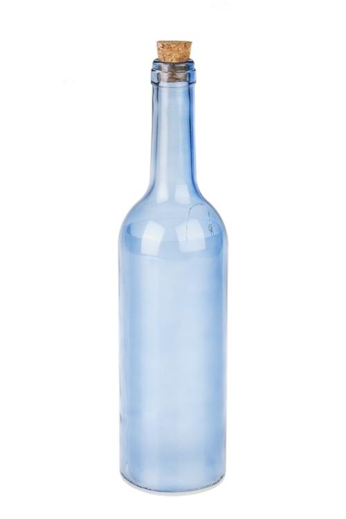 Украшение для интерьера светящееся Яркие звездыИнтерьер<br>28*7см, стекло, пластм., голубое<br>