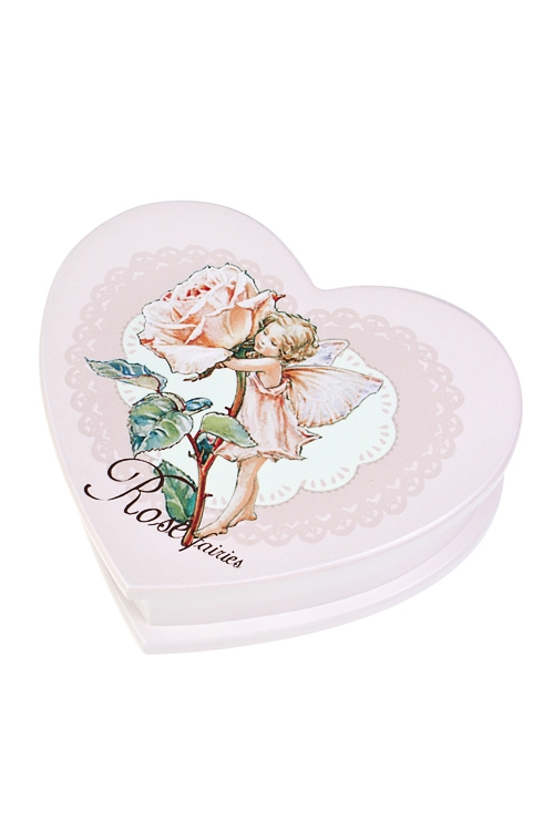 """Шкатулка для ювелирных украшений """"Фея розы"""" от Красный куб"""