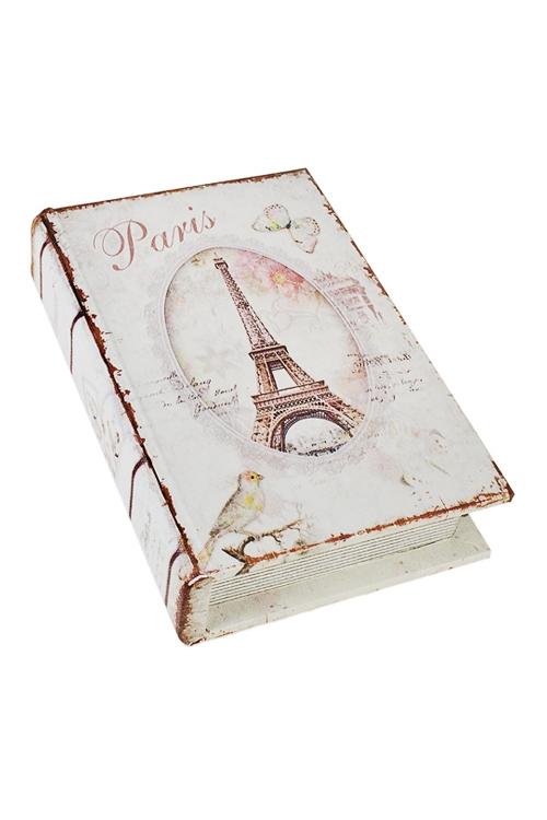Шкатулка Летний ПарижШкатулки и наборы по уходу<br>18*12*4см, МДФ<br>